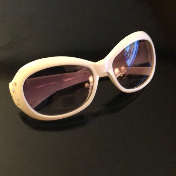 c2047bc8c040 Limited Too Accessories | White Sparkly Kids Sunglasses | Poshmark